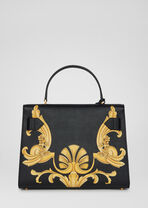 Barocco印花顶部手柄Icon手袋 - Versace Icon 系列 - image 4 of 5 in carousel