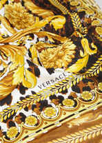 Wild Baroque印花桑蚕丝方巾 - Versace 方巾和围巾 - image 3 of 3 in carousel