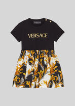 Acanthus Kids印花T恤裙 - Young Versace 幼婴服装 - image 1 of 4 in carousel