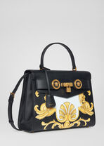 Barocco印花顶部手柄Icon手袋 - Versace Icon 系列 - image 3 of 5 in carousel