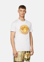 Medusa Amplified刺绣T恤 - Versace T恤和Polo衫 - image 2 of 5 in carousel