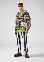 Mad About Versace印花牛仔夹克 - Versace 外套和大衣 - image 3 of 6 in carousel