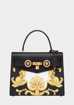 Barocco印花顶部手柄Icon手袋 - Versace Icon 系列 - image 5 of 5 in carousel