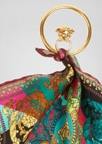 Voyage Barocco印花饰带装饰耳环 - Versace 耳环 - image 3 of 3 in carousel
