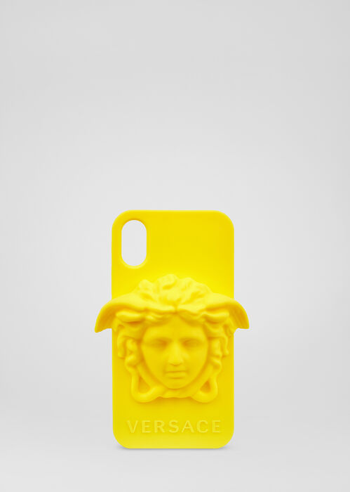 美杜莎iPhone X硅胶手机套 - Versace Iphone 配饰