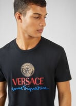 Home Signature Logo T恤 - Versace T恤和Polo衫 - image 5 of 5 in carousel