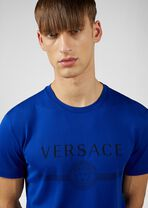 修身版Logo装饰可持续面料T恤 - Versace T恤和Polo衫 - image 5 of 5 in carousel