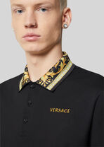 Barocco图案Polo衫 - Versace T恤和Polo衫 - image 5 of 5 in carousel