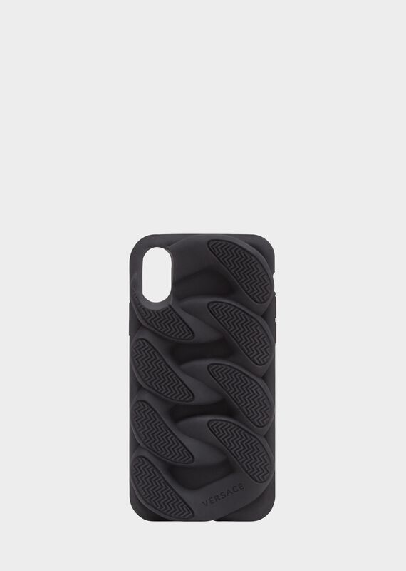 Chain Reaction iPhone X手机套 - Versace Iphone 配饰 - image 1 of 2 in carousel