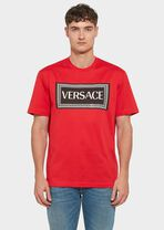 复古风格90年代 Versace Logo T恤 - Versace T恤和Polo衫 - image 4 of 5 in carousel