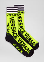Logo图案短袜 - Versace 男袜 - image 1 of 2 in carousel