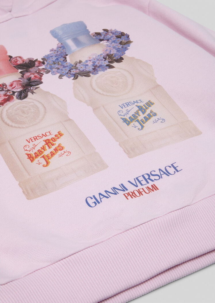 Versace Scents Kids印花连帽衫 - Young Versace 女童服装