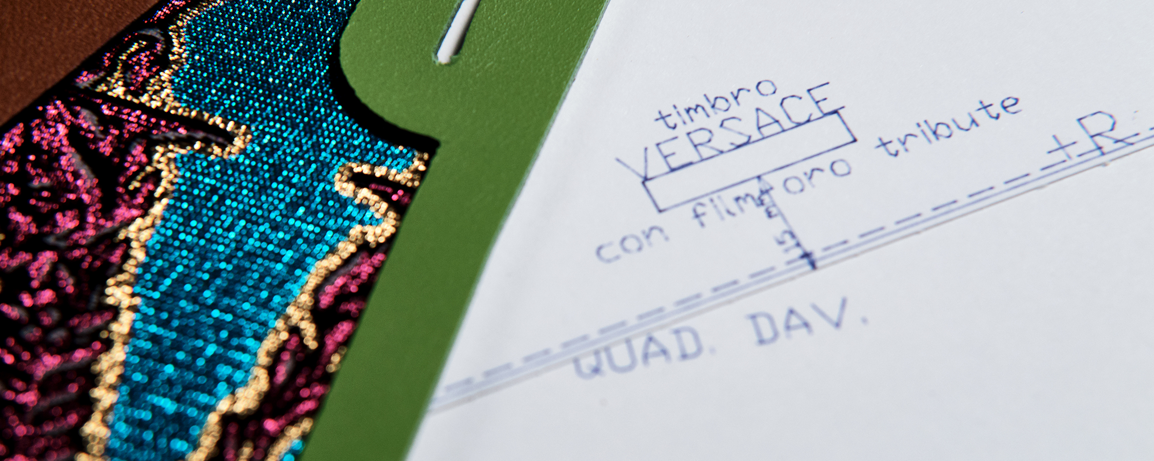 Versace Sustainability - Digital Print Making